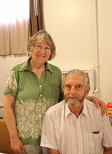 Sub-Deacon John(Ray) with his wife, Peggy